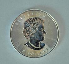 (10) CANADA 2015 8-DOLLAR ELIZABETH ll BISON COINS