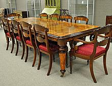 11-PC. EXCEPTIONAL REGENCY STYLE DINING SUITE