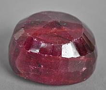 UNMOUNTED DYED RUBY, 556.93CT