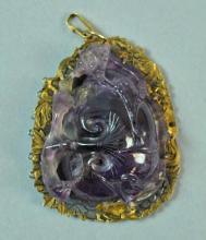 CHINESE AMETHYST CARVING