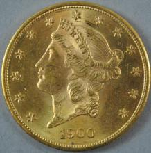 United States $20 Double Eagle Gold Coins for Sale at Online