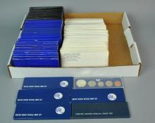(75) US PROOF & UNCIRCULATED COIN SETS
