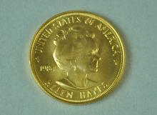 1984 AMERICAN ARTS HELEN HAYES GOLD MEDALLION