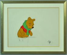 MICKEY MOUSE DISNEY PRODUCTION CEL?POOH