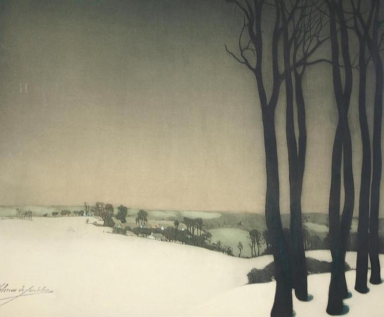 ROGER HEBBELINCK (Belgian 1912-)