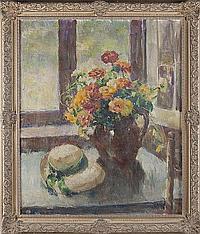 "Adele Williams (VA, 1868-1952), ""The Garden Hat"""