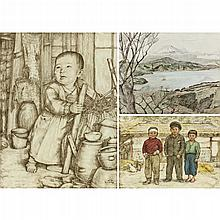 Willy Seiler (German, b. 1903), Three Works