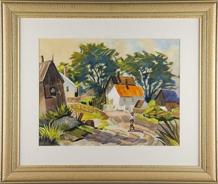 R. Hal Burriss (FL, 1892-1991), Southern Farmyard