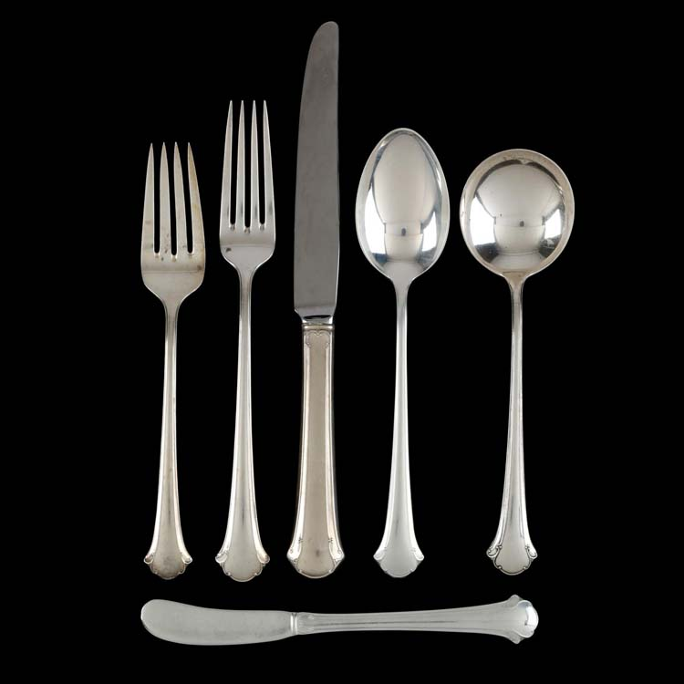Chippendale-Towle Sterling Salad Fork s