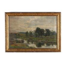 Hugh Bolton Jones (American, 1848-1927), Summer Landscape