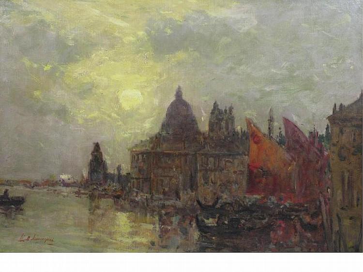 Elliott Daingerfield (NC/NY, 1859-1932), Venice,