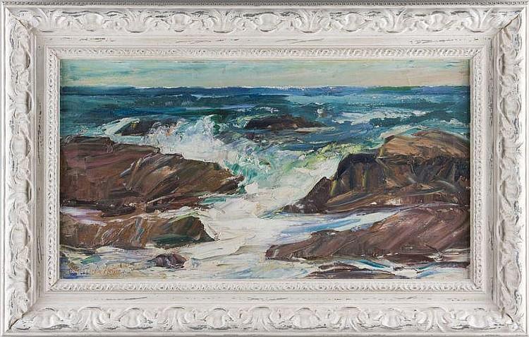 Charles Marston (MA, 1898-1980), Rocky Coast