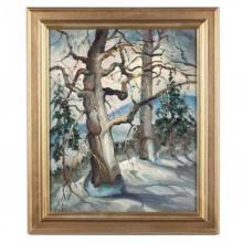 William Leon Stacks (NC/MA, 1928-1991), John Henry's Mountain