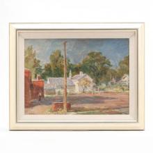 Sarah Blakeslee (NC, 1912-2005), Parking Lot, Greenville