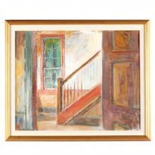 Sarah Blakeslee (NC, 1912-2005), Interior, Stairway (Speight Home, Bertie County)