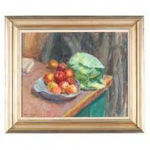 Sarah Blakeslee (NC, 1912-2005), Apples & Cabbage