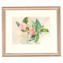 Sarah Blakeslee (NC, 1912-2005), Two Camellias