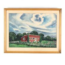 Joseph DiGemma (NY, 1910-2005), Garden Cottage