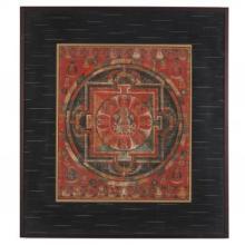 An Early Tibetan Mandala of Buddha Amitabha