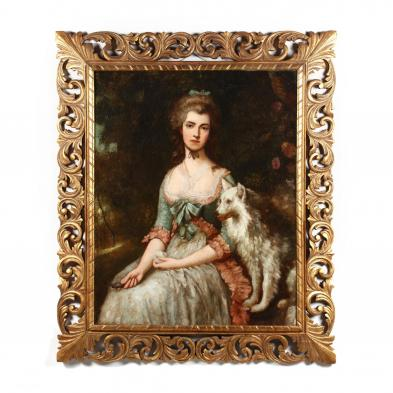 after Thomas Gainsborough (1727-1788), Portrait of Mrs. Mary Robinson as Perdita