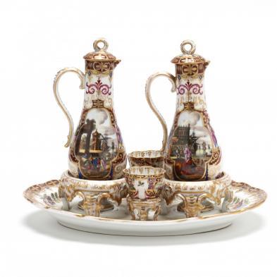 Porcelain Chocolate Set au Deux