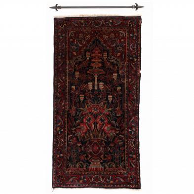 Persian Kashan Prayer Rug