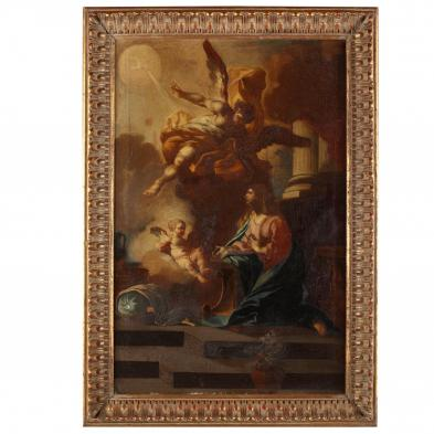 workshop of Francesco Solimena (Italian, 1657-1747), The Annunciation