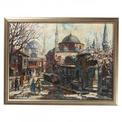 Ibrahim Safi (Turkey, 1898-1983), Istanbul