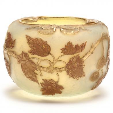 Daum Nancy, Cameo Glass Bowl