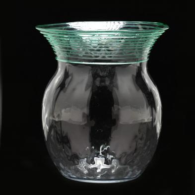 Carder Era Steuben, Threaded Vase