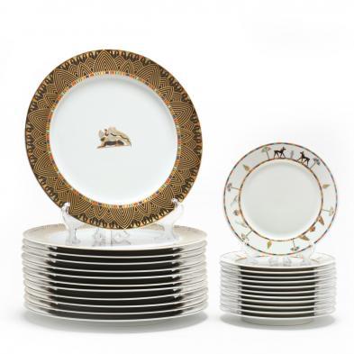 (24) Plates,