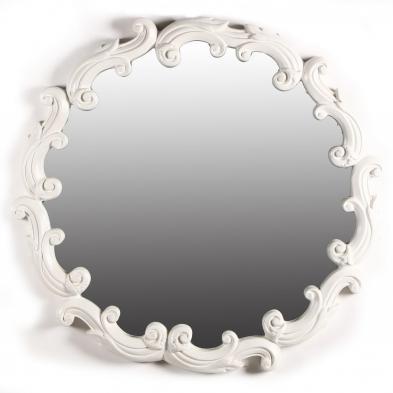 Dorothy Draper Decorative Circular Mirror