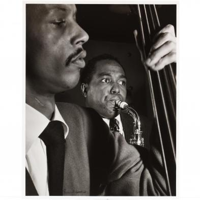 William Gottlieb (1917-2006), Charlie Parker with Tommy Potter