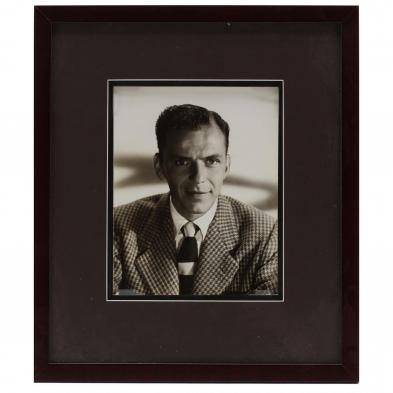 A Portrait Photograph of Frank Sinatra