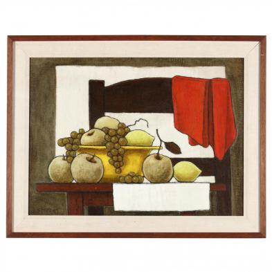 Jorge Soteras (Spanish, 1917-1990), Still Life with Chair