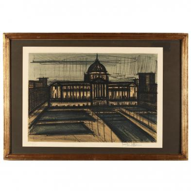 Bernard Buffet (French, 1928-1999), San Francisco III, from <i>Album San Francisco</i>