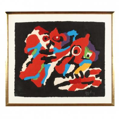 Karel Appel (Dutch, 1921-2006), <i>Couple in the Night</i>