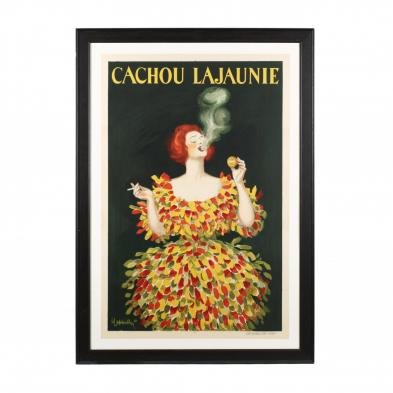 Leonetto Cappiello (French, 1875-1942), <i>Cachou Lajaunie</i>