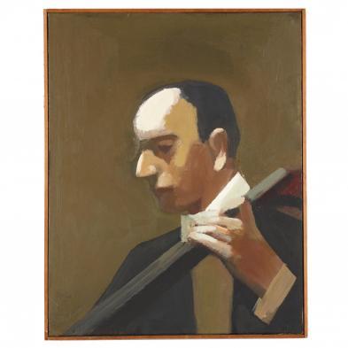 James Weeks (CA, 1922-1998), <i>Instrumentalist</i>