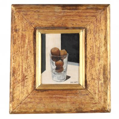 Sally Haley (OR/CT, 1908-2007), <i>Hazelnuts in Glass</i>