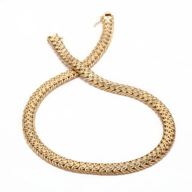 14KT Gold Necklace, Unoaerre