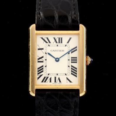 Gent's 18KT Tank Louis Watch, Cartier