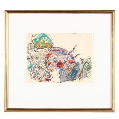 Walter Inglis Anderson (MI/LA, 1903-1965), Shells and Hermit Crabs