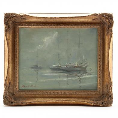 Ray Ellis (SC, 1921-2013), Ships in Fog