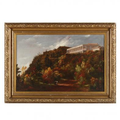 19th Century Hudson River School Painting