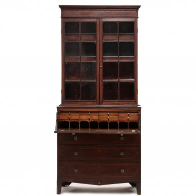 Southern Federal Inlaid Secretary Desk