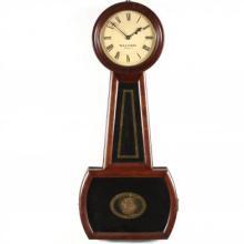 W. H. C. Riggs Philadelphia Banjo Clock