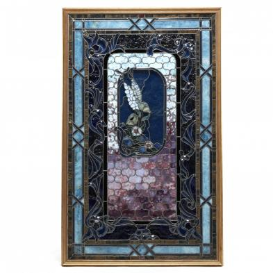 FIne Large Stained Glass Window