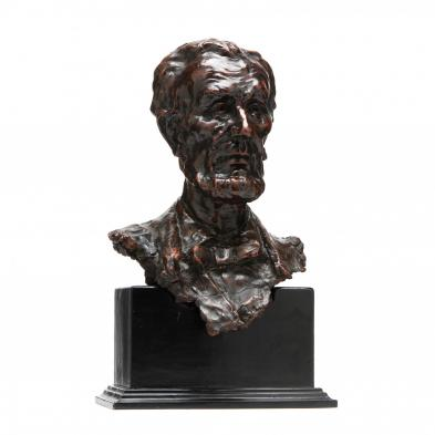 Bust of Abraham Lincoln, Possibly by Jo Davidson