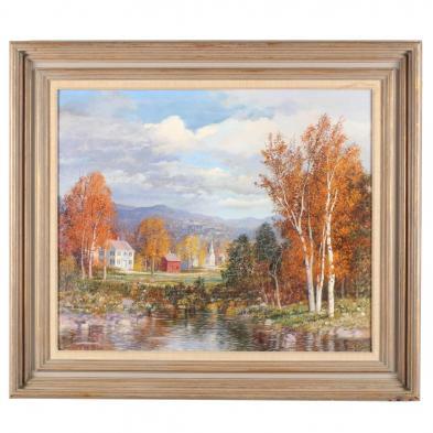 Carl Wuermer (NY/CA, 1900-1981), Autumn Tranquility